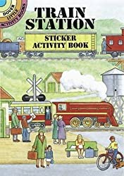 Train Station Sticker Activity Book (Dover Little Activity Books Stickers) by A. G. Smith (1998-12-23)