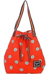 Be for Bag Exclusive Zoli Women's Handbag (Orange)