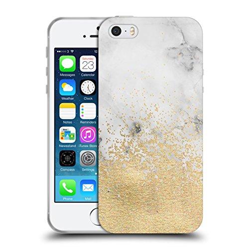 Offizielle Tangerine-Tane Schildkröten Texture & Muster Soft Gel Hülle für Apple iPhone 6 / 6s Goldstaub Und Marbel