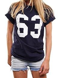 Football T-Shirt - Trikot 63 - Oversize Top übergröße lässig geschnitten