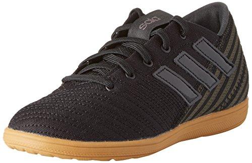 adidas Unisex-Kinder Nemeziz 17.4 in Sala Fußballschuhe, Schwarz (Core Black/Core Black/Utility Black), 38 EU (Sport-schuhe Für Sale)