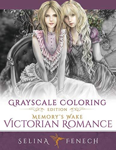 Memory's Wake Victorian Romance - Grayscale Coloring Edition: Volume 5 (Grayscale Coloring Books by Selina)