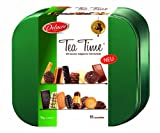Biscuits Tea Time DELACRE 1Kg Une s.eacute;lection de 16 vari.eacute;t.eacute;s de biscuits Delacre, dont les plus connues : Marquisettes, Biarritz, Cigarettes Russes, D.eacute;lichoc, Matadi, C.oelig;ur Blanc et D.ocirc;me Truff.eacute;. Un assortim...