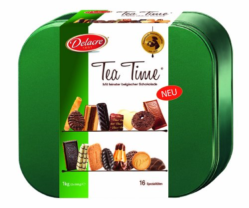 Delacre Tea Time Assortiment de Biscuits 1 kg