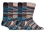 6 pares hombre calcetines vestir rayas modernos algodon fantasia de verano (39-45 eur, SS Bangkok)