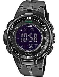 Casio Herren-Armbanduhr XL Pro Trek Digital Quarz Resin PRW-3000-1AER