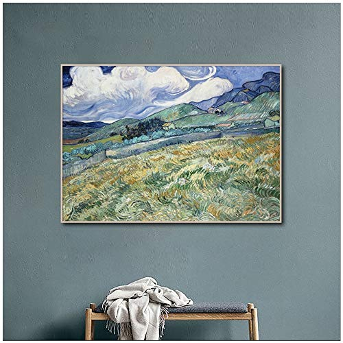 Geiqianjiumai Abstrakte Kunst Serie Bilder und Ölgemälde Home Art Dekoration Wandbild rahmenlose Malerei 90x117cm