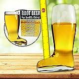 MostroMania - Bicchiere da Birra Stivale - Calice da Birra a forma di Stivale - Calice Divertente - Accessori da Birra - Regali per Lui - Regali di Compleanno