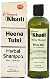 Khadi Tulsi & Heena Herbal Shampoo, 210 ml (With extra conditioning)