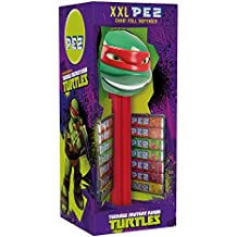 PEZ Dispensador XXL Raphael + 14 caramelos PEZ á ...