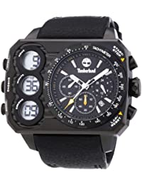 Timberland Herren-Armbanduhr Analog - Digital Quarz Leder TBL.13673JSB/02