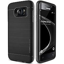 Funda Galaxy S7 Edge VRS Design® Funda Silicona [Negro] Protectora Choque - Absorción, Protección de Grado Militar [High Pro Shield] Para Samsung Galaxy S7 Edge 2016