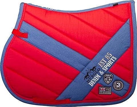 HV Polo Saddle Pad Saddle Cloth Full Vs Bruges or Dr Hibiscus, VS (Full)
