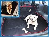 BMW i8i814-on 2in 1Cargo Cover PET DOG TRAVEL Hängematte rot/schwarz