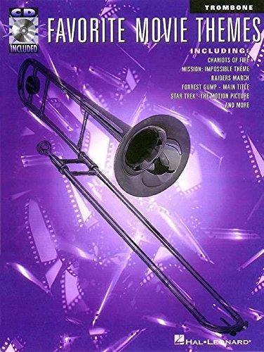 Favorite Movie Themes - Trombone Bk/online audio (1997-10-01)