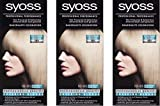 Syoss Coloration 10 – 95 Intensives Eisblond, 3er Pack (3 x 115 ml)