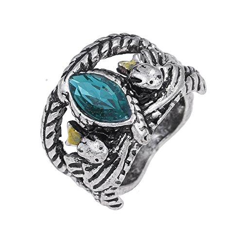 (Lureme Jahrgang Herr der Ringe Aragons Ring Barahir Leopard Lotr Finger Ring (rg001819-4))