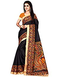 OM SAI LATEST CREATION Cotton Silk Saree With Blouse Piece Sarees For Women