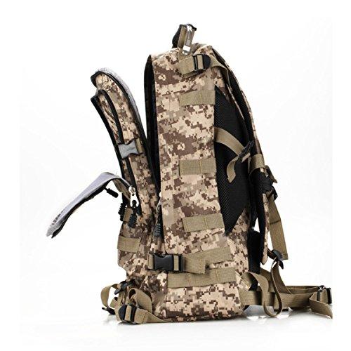 Tarnung Rucksack Im Freien Bergsteigen Tasche Reise Schulter Tasche Desertcamouflage
