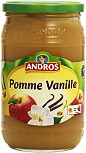 Andros Compote de Pomme Vanille 750 g