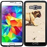 Funda de silicona para Samsung Galaxy Grand Prime (SM-G530) - Pug Bebé Pequeño Perro by Marina Kuchenbecker