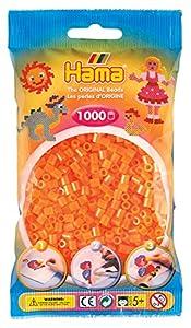 Hama- Bolsa con Cuentas, Color Naranja (Hame 207-38)