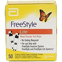 Freestyle Lite FRE537M Tiras de prueba de sangre glucosa (Pack de 50)