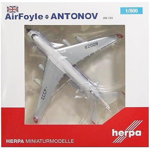 Modelo de los aviones de Air Foyle Aerolíneas Antonov An-124 Escala 1: 500