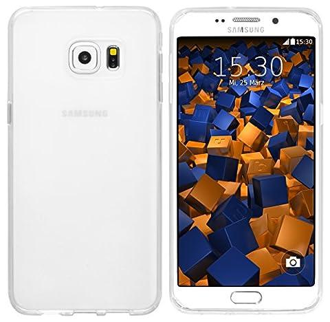 mumbi Schutzhülle für Samsung Galaxy S6 Edge+ Hülle transparent weiss