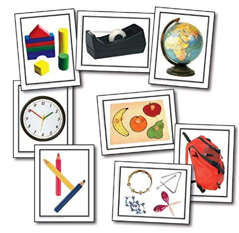 Nouns: Things at School Learning Cards
