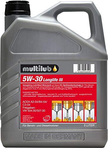 Multilub Motoröl 5W-30 Longlife III