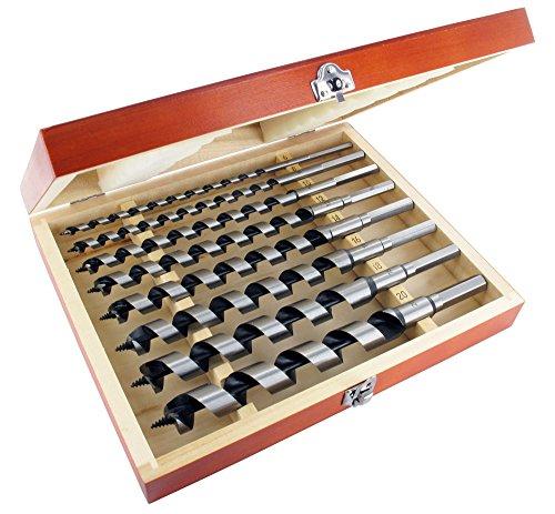 ENT 09191 8-tlg. Schlangenbohrer Set - GL 230 mm - Ø6-20mm