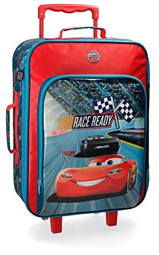 Disney Race Valigia per bambini, 50 cm, 26 liters, Multicolore (Multicolor)