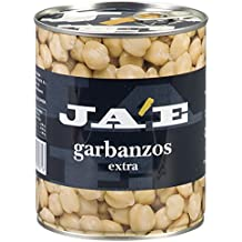 Jae - Garbanzos Extra, 780 g - [Pack de 6]