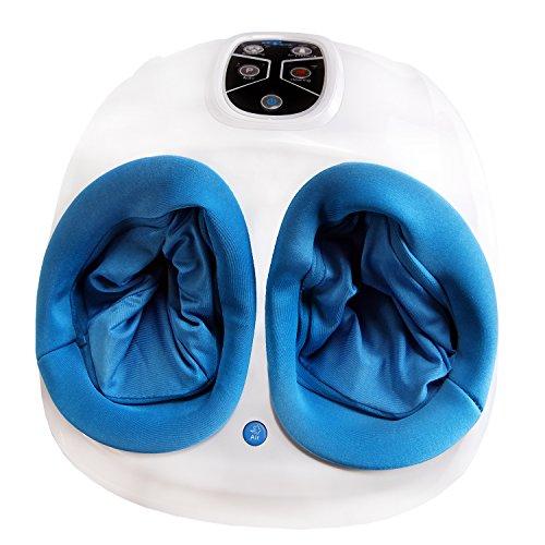 Fuss-fit-Maxx Fussmassagegerät - Wellness Oase - Fußreflexzonen Massagegerät - mit 3D-Luftmassagetechnik und zuschaltbarer Wärmefunktion -
