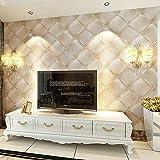 DACHENZI Luxuxtapete 3D Für Wand-Wohnzimmer-Wand-Papierhintergrund-Wandverkleidungen Der Wand
