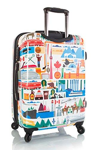 ... 50% SALE ... PREMIUM DESIGNER Hartschalen Koffer - Heys Künstler Fernando Kanada - Handgepäck Kanada