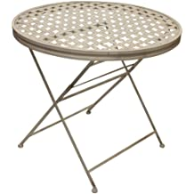 Amazon.fr : table jardin ronde pliante