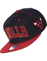 Casquette Mitchell And Ness Chicago Bulls Logo Red/Or EU168