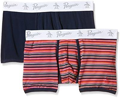 Original Penguin Men's 2PP Sunset Stripe Trunks Boxer Shorts