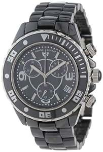 Swiss Legend - SL-30050-BKBSR - Montre Homme - Quartz - Chronographe - Bracelet Céramique Noir