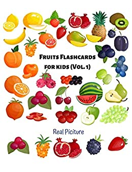 Fruit Flashcards For kids (Vol 1): Flashcards Different