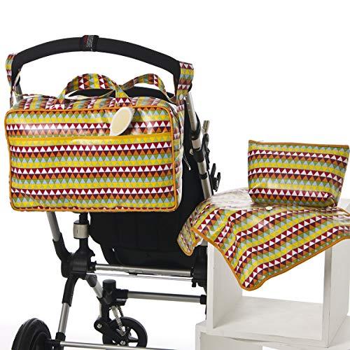 Imagen para Bolso BEIGE tipo maleta. Incluye: Bolso + Cambiador + Bolsito neceser IMPERMEABLE. 267118 Koketes, Mobibe, Bebelovers