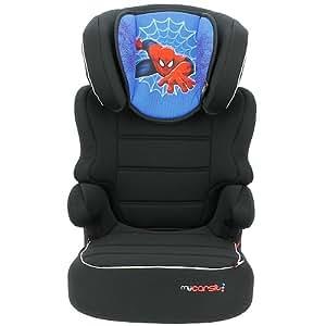 MyCarSit Disney Spiderman High Back Booster Car seat