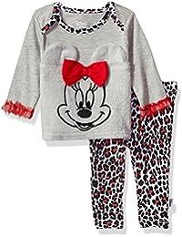 Disney Baby Girls Minnie Mouse 2-Piece Pant Set