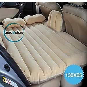Materasso letto gonfiabile airbed per auto sedile posteriore macchina con pompa - Letto gonfiabile amazon ...