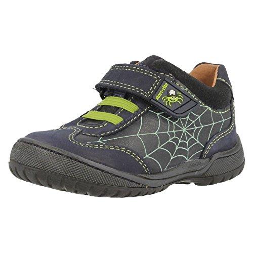 Start-rite Boys Incy Spider marrone scarpe in pelle, blu (Navy blue), S