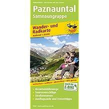 Paznauntal, Samnaungruppe: Wander- und Radkarte mit Ausflugszielen & Freizeittipps, wetterfest, reißfest, abwischbar, GPS-genau. 1:35000 (Wander- und Radkarte / WuRK)