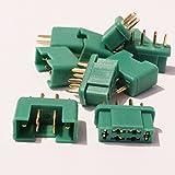 MR-Onlinehandel ® 5 Paar (10 Stück) MPX Multiplex kompatible Goldkontakt Hochstrom Gold Stecker + Buchse