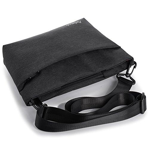 Borsello Uomo Piccolo Borsa a Tracolla Impermeabile Messenger Bag Casual  Borse a Spalla in Oxford Messaggero Sacchetto con Multi Tasca per Viaggi  Sport ... 514e004a7ca